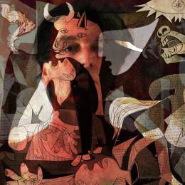 Boris Novak Tribute to Pablo Picasso Guernica nire