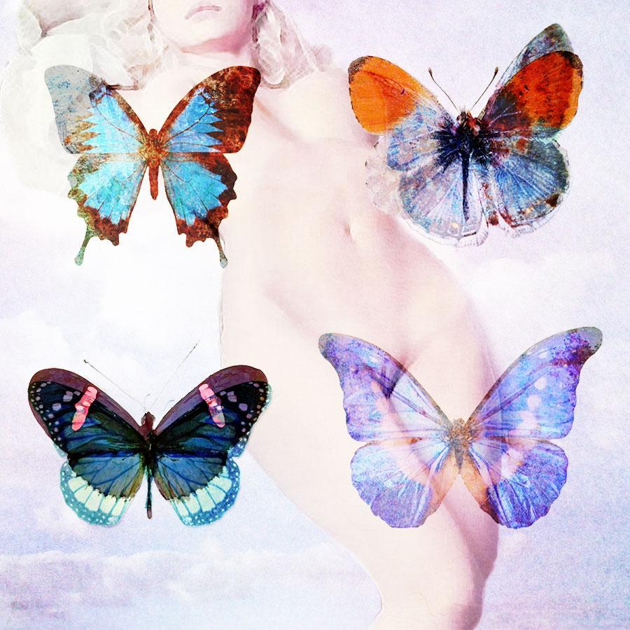 girl Butterflies