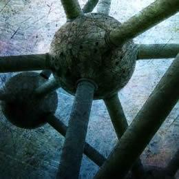 manipulated photograph, Atomium Brussels